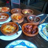 Photo taken at La Tasca by Annet D. on 1/2/2012