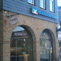 Photo taken at Märkische Bank eG Herdecke by Moby K. on 10/23/2011