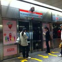 Photo taken at Orchard MRT Station (NS22) by Tiffany Kaye R. on 7/29/2011