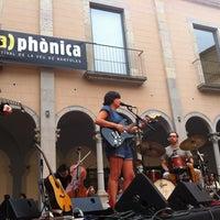 Photo taken at Monestir de Sant Esteve by Sara L. on 7/14/2012