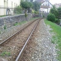 Photo taken at Gare Tramelan by nahe on 7/13/2012