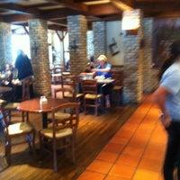 Photo taken at la Madeleine French Bakery & Café Mandeville by Catherine M. on 8/4/2011