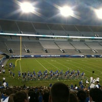 Photo taken at Commonwealth Stadium by Peyton O. on 8/19/2012