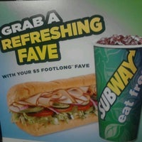 Photo taken at SUBWAY by Steve b. on 9/5/2012