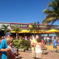 Photo taken at Conch Republic Seafood Company by Michael F. on 11/3/2011