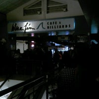Photo taken at Blue Fin Cafe & Billiards by Sarah H. on 8/26/2012