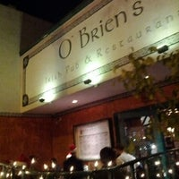 Photo taken at O'Brien's Irish Pub & Restaurant by Michael P. on 12/18/2011