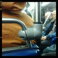Photo taken at MBTA Silverline #4 Bus by Amy S. on 1/9/2012
