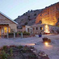 Photo taken at Ojo Caliente Mineral Springs Resort & Spa by Craig L. on 6/30/2012