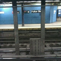 Photo taken at MTA Subway - Fulton St (A/C/J/Z/2/3/4/5) by Maurice W. on 4/11/2011