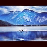 Photo taken at Lago di Caldonazzo by Margherita P. on 9/1/2012