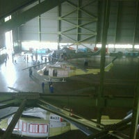 Photo taken at Helicopter Hangar (AI) - PT. DI by Herry H. on 1/30/2012