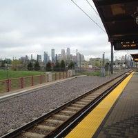 Photo taken at Franklin Avenue LRT Station by Jeffrey S. on 5/2/2012