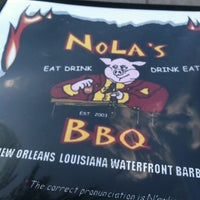 Photo taken at Nola's Waterfront BBQ by Jeremy P. on 8/26/2012
