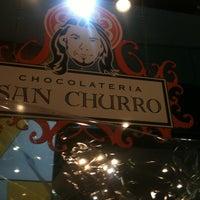Photo taken at Chocolateria San Churro by Jackson G. on 12/2/2011