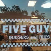 Photo taken at Five Guys by Toby K. on 9/10/2011