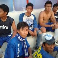 Photo taken at Stadion Krida Rembang by Saiia L. on 4/14/2012