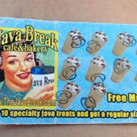 Photo taken at Java Break by Lindsey F. on 7/17/2012