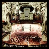 Foto tomada en Palau de la Música Catalana por Marce A. el 9/11/2012