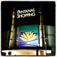 Photo taken at Pantanal Shopping by Vinícius B. on 4/13/2012