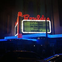 Photo taken at Boulder Theater by Sarah Jane G. on 4/6/2012