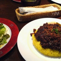 Photo taken at Salon de Cafe SAMASAMA by macho k. on 8/11/2012