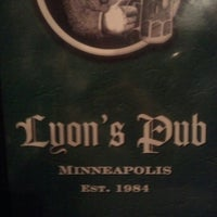 Photo taken at Lyon's Pub by Edward S. on 8/23/2012