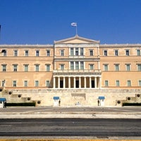 Photo taken at Syntagma Square by Valentin M. on 7/14/2012
