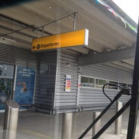 Photo taken at Southampton Airport (SOU) by Gary W. on 8/22/2012