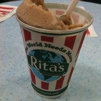 Photo taken at Rita's Italian Ice & Custard by Jennifer B. on 6/22/2012