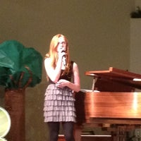 Photo taken at University Baptist Church by Tami K. on 5/21/2012
