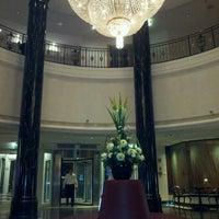 Photo taken at Sheraton Warsaw Hotel by Hamdy K. on 9/12/2012