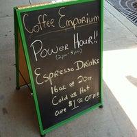Photo taken at Coffee Emporium by Macy K. on 6/27/2012