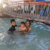 Photo taken at Kolam Renang Bikasoga by Wini A. on 5/19/2012