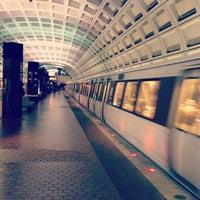 Photo taken at Metro Center Metro Station by Matthew L. on 9/11/2012