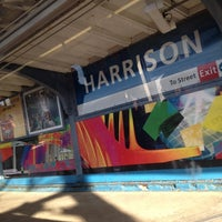 Photo taken at PATH - Harrison Station by Vinay B. on 4/13/2012