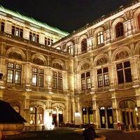 Photo taken at Vienna State Opera by Nick G. on 3/12/2012