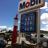 Photo taken at Exxon/ Mobil by IPat M. on 5/9/2012
