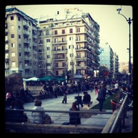 Photo taken at Navarinou Square by Katerina M. on 4/6/2012