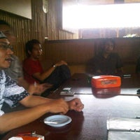 Photo taken at Cibiuk - Rumah Makan Khas Sunda by Bram I. on 6/10/2012