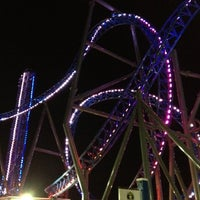 Photo taken at Iron Shark Rollercoaster by Jeremy C. on 8/8/2012