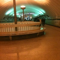 Photo taken at metro Sportivnaya by Серёжа Красных on 3/22/2012