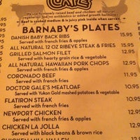 Photo taken at Barnaby's Cafe by Shay C. on 7/13/2012