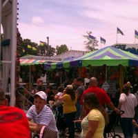 Photo taken at Camp Lejeune Carnival by Joey B. on 5/19/2012