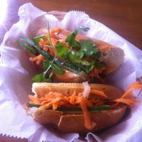 Photo taken at Bun Mi Express by Michael D. on 6/30/2012