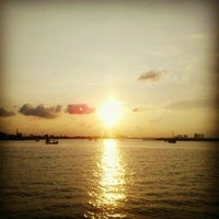 Photo taken at Ancol Beach by Wewed on 4/6/2012