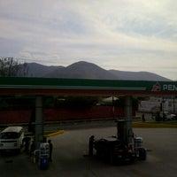 Photo taken at Gasolinera 10155 by Edgar V. on 2/28/2012