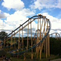Photo taken at Flamingo Land by Gaz on 7/29/2012