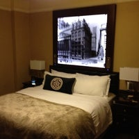 Photo taken at The Algonquin Hotel Times Square, Autograph Collection by Anthony J. on 8/20/2012