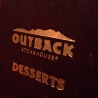 Photo taken at Outback Steakhouse by Ayyad A. on 8/12/2012